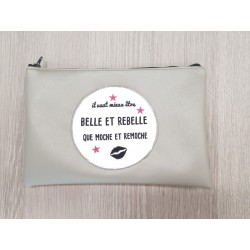 "Pochette Simili ""Belle et rebelle"""