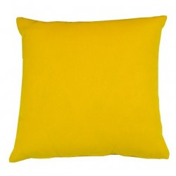 Coussin carré Tissu Outdoor jaune