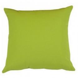 Coussin carré tissu Outdoor vert