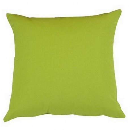 Coussin tissu Outdoor vert