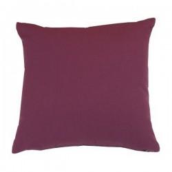 Coussin carré tissu Outdoor violet